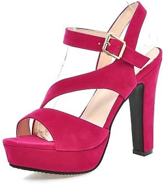 d76a59c185974 ShangYi Women s Shoes Fleece Stiletto Stiletto Stiletto Heel Heels    Comfort   Open Toe Sandals Office   Career   Dress Black  ... Parent  B01FZJI1UQ 3730d6