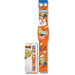'Minions Despicable Me Flat Digital Watch Orange