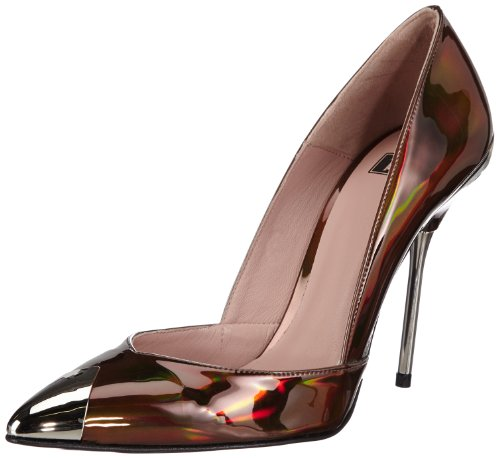P1  145 bpm, Escarpins femme Marron - Braun (Brown Metallic)