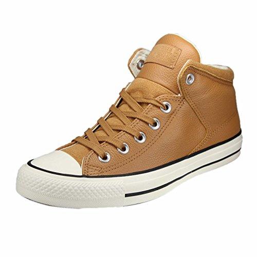 Converse Unisex Adulto Ctas High Street Hi Zucchero Grezzo / Garzetta Alta Sneaker Zucchero Grezzo / Garzetta