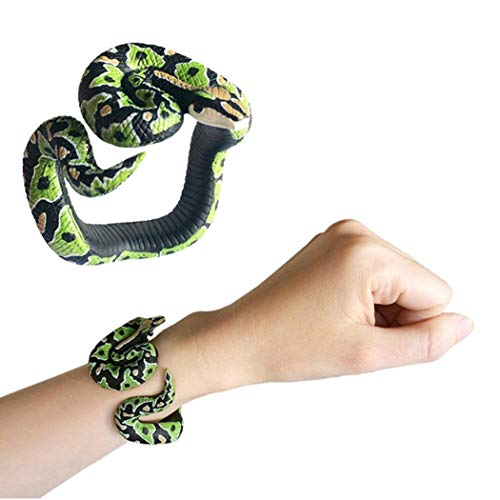 redbe Simulazione Snake Bracelet Snake Model Halloween Decoration Hobby e collezionismo