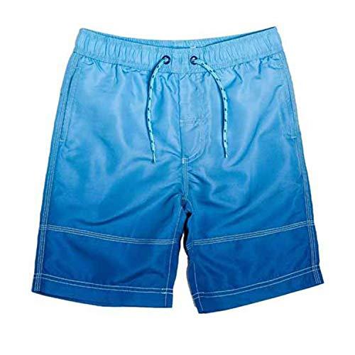 Minoti - Short de Bain - Garçon Bleu Bleu