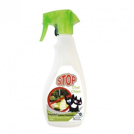 wesentlich–Fernhaltemittel Außen Stop Spray für Hunde und Katzen–500ml