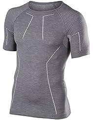 Falke Underwear Wool Tech à manches longues pour Comfort Men Sous-vêtement de sport