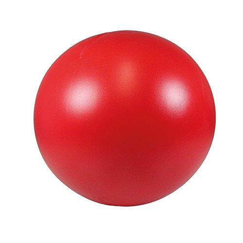 Schecker Treibball in Rot für Hunde aus harten Kunststoff 28 cm