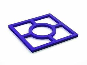 Ibili 776900 Dessous de Plat 100% Silicone - Modèle aléatoire