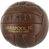 FC Liverpool LFC Retro Lederball, Fußball in Braun Gr. 5