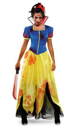Imagen de disfraz blancanieves zombie mujer