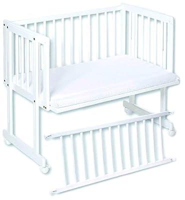 Easy Baby 160-12 Dream und Drive - Cuna con colchón, color blanco