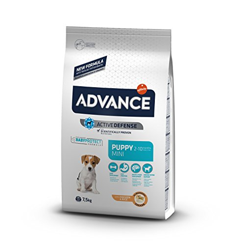 Advance Puppy Protect Pienso para Perro Mini Puppy con Pollo - 7,5 Kg