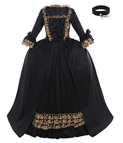 Cosplayitem Frauen Elegante Mittelalterliche Rokoko Barocken Kleid Gothic Viktorianischen Kostüm...
