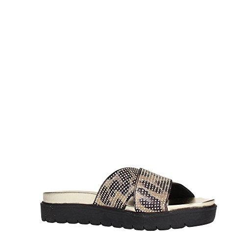 Liu Jo Shoes S15045 Pantofflen Damen Satin Schwarz
