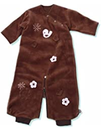 Baby Boum Wendy Fleece 1.7 Tog 0-9 Months Sleeping Bag (Choco Brown)