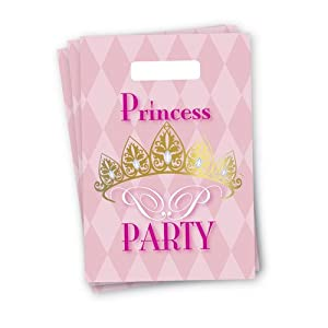 speel Goed 435330 - Princess Party Bolsillos, 6 Unidades