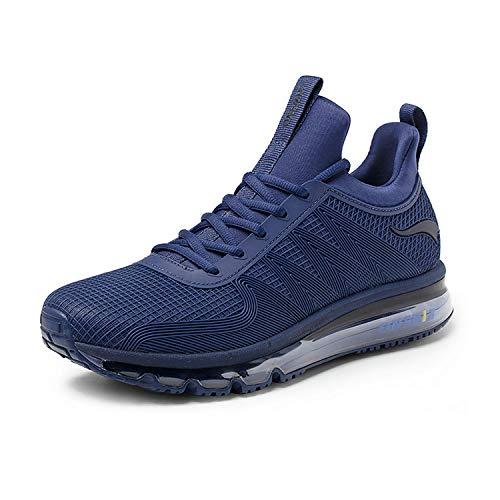 Onemix air running uomo scarpe da corsa ginnastica sportive sneaker blu scuro 43 eu