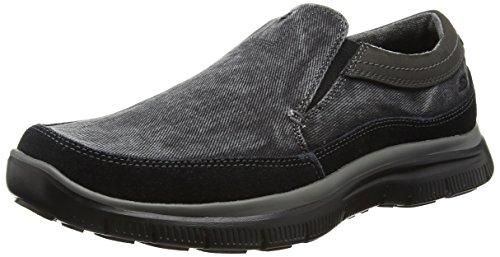 Skechers Hinton-Olmos, Chaussures de Tennis Homme Noir