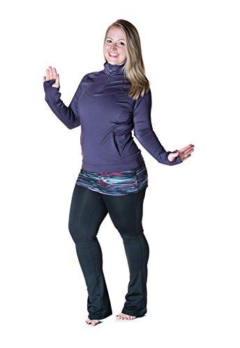 Skirt Sports Damen Chick Top, Damen, Mulberry, X-Large Skull Track Jacket