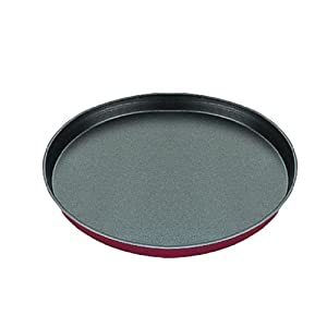 "IBILI"" Venus Pizza Mould, Aluminium Black/Red, 32 x 32 x 6 cm"