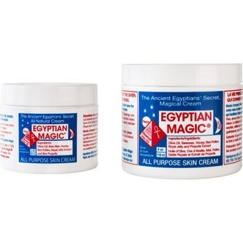 2 Wholesale Lots of 2 Pack Egyptian Magic All Purpose Skin Cream 4oz + 2oz, 4 Tubs Total by SSW Wholesalers (Egyptian Magic Skin Cream)