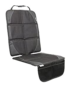 Biddy Universal Car Seat Protector with padded cover, organizer pockets,iso-fix