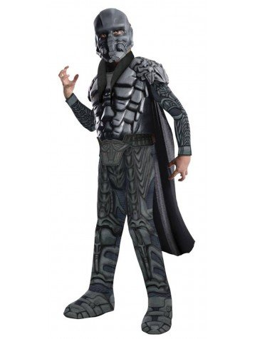 General Zod Kostüm Superman Man of Steel für Kind Größe L 140cm