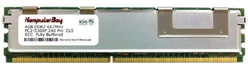 komputerbay4gb (1x 4GB) Voll gepuffert DIMM PC2-5300667MHz New -