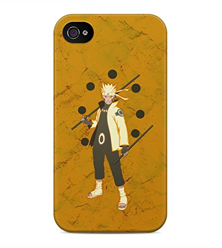 Naruto Shippuden Naruto Ultimate Storm Hard Plastic Snap On Back Case Cover For iPhone 4 / 4s Custodia