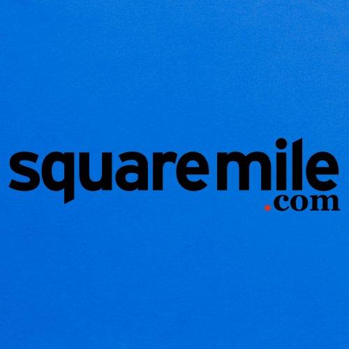 Square Mile Logo T-Shirt, Herren Royalblau