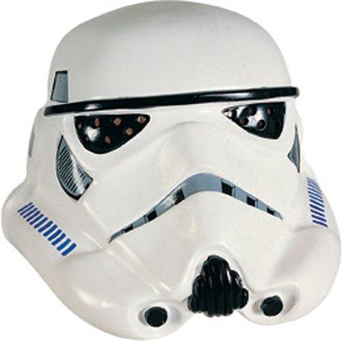 Rubie 's Offizielles Star Wars Storm Trooper Maske, Erwachsenen-Kostüm–One Size (Darth Vader Kostüme Authentisch)