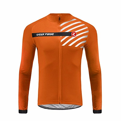 Uglyfrog UFDSJ22 Radfahren Jersey Herren Winter Radtrikots Pro Rennen Team Thermal Radfahren Langarm MTB Radbekleidung Cycling Jersey -