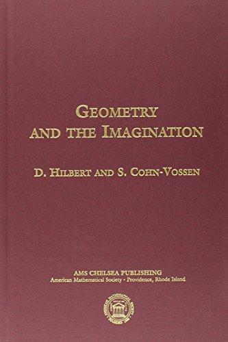 Geometry and the Imagination (AMS/Chelsea Publication) por D. Hilbert
