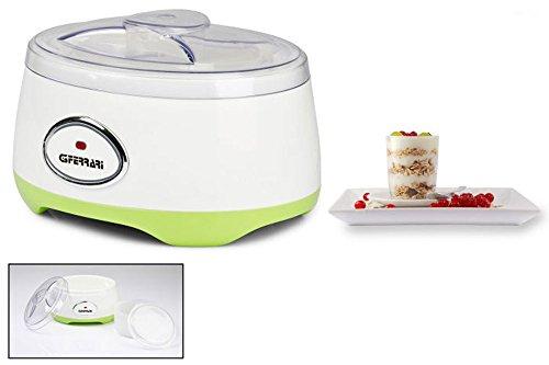Vetrineinrete Macchina per Yogurt elettrica capacità 1 litro yogurtiera per yogurt fatti in casa B22