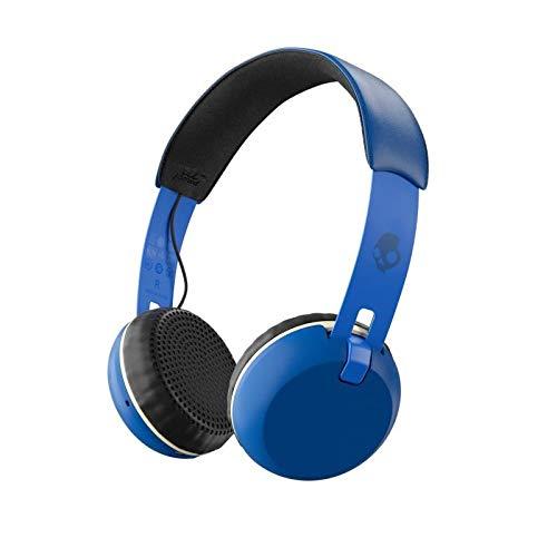 Skullcandy Grind Wireless, On-Ear Kopfhörer, Blau