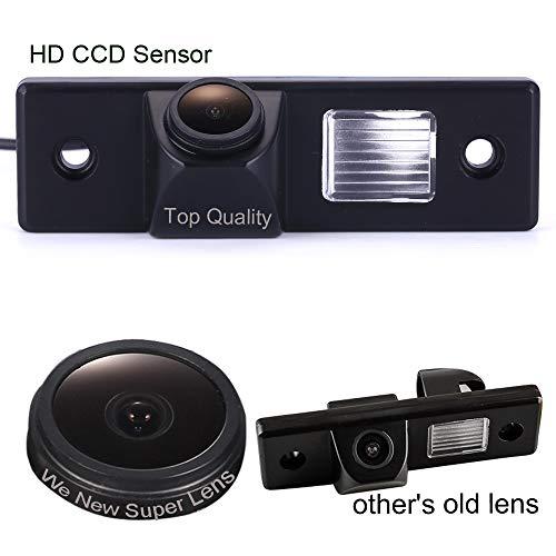 1280 * 720 Pixel 1000TV Linien Sternenlicht Super Pro HD Objektiv Rückfahrkamera Einparkhilfe mit 8IR Nachtsicht Wasserdicht für Chevrolet Captiva/Epica/Cruze/LOVA/Aveo/Lacetti Orlando
