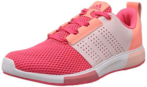 adidas Madoru 2 W, Chaussures de Running Entrainement Femme Multicolore - Rojo / Blanco (Rojimp / Rojimp / Rolhal)
