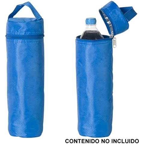 Papillon - Borsa Termica Per Botiglia Capacità 2Lt Colore Azzurro-Grigio