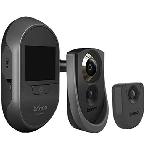 Brinno SHC 1000 Mirilla electrónica con toma de fotografías en tarjeta SD, activación por detección de movimiento