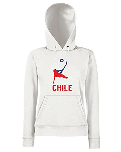 T-Shirtshock - Sweats a capuche Femme WC0257 Chile Blanc