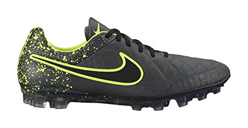 Nike Tiempo Legend V Ag-r, Chaussures de Football Homme Anthracite/Black