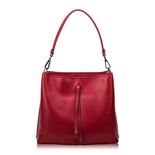 Damen Umhängetasche Handtasche Leder Handtasche PU Eimer Tasche Handtasche Leder Handtasche D