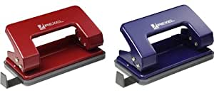 Rexel Student 2 Hole Metal Punch, 8 Sheet Capacity - Assorted Colours