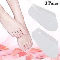 Fuß Maske, Kapmore 3 Paare Erwachsene Fußmaske Remover Dead Haut Fußpflege Maske Fuß Peeling Maske preisvergleich bei billige-tabletten.eu