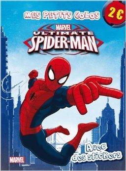 Ultimate Spiderman : Avec des stickers de Marvel ( 8 janvier 2014 )