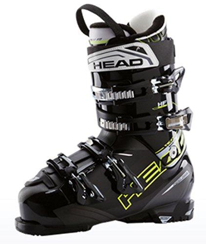 Head Herren Skischuh Ski-Schuh Next Edge 80 Hit Fit schwarz/gelb, Größe:30 -