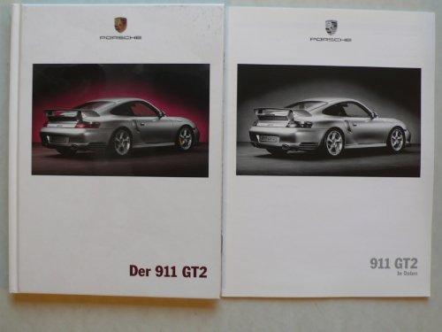 Prospekt / brochure - Porsche - Der 911 GT 2 mit 24 S. Preisliste/Daten - sehr selten - Drucknummer WVK 178410 D/WW - Original