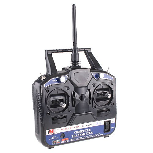Preisvergleich Produktbild GoolRC TIMETOP 2.4G FS-CT6B 6 CH Radio Model RC Transmitter & Receiver Heli/Airplane/Glid for Helicopter (Package including: 1 x Transmitter 1 x Receiver 1 x USB Cable 1 x Software CD)