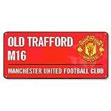 Manchester United Farbe Straßenschild–Mehrfarbig