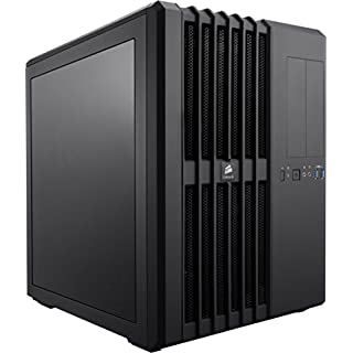 Corsair CC-9011030-WW Carbide Series Air 540 ATX High Airflow Cube Performance Windowed Computer Case - Black