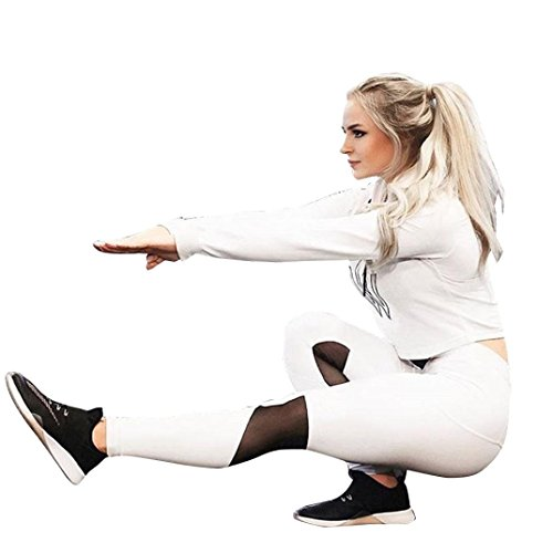 AMUSTER.DAN Leggings Frauen Strumpfhosen Yoga & Laufen Casual Sport Hosen Fitness Tragen Tight (M, (Size Womens Hexe Plus Kostüme)