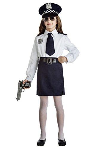 Imagen de disfraz policia niña talla 5 6